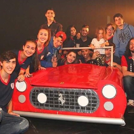 Projeto Construção Ferrari 250GT CaliforniaSpyder