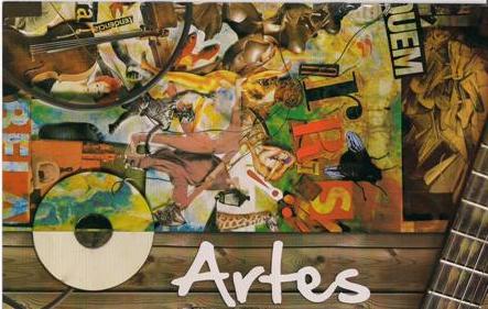 Aulas de Arte no Colégio Integrado Diadema