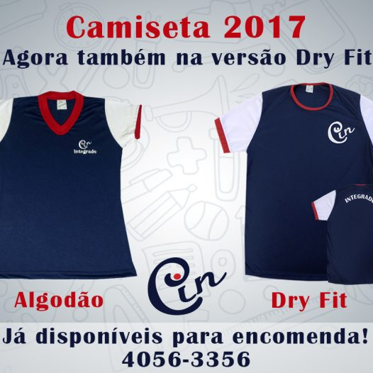Nova Camiseta Dri-Fit 2017