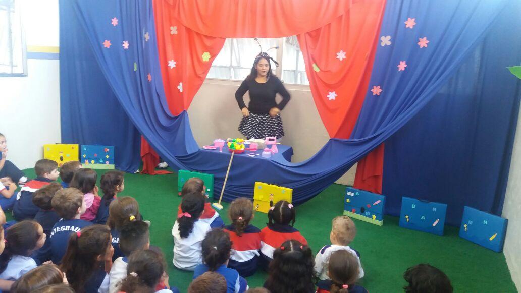 Well-known Projeto Leitura- Alunos da Educação Infantil I, II e III  AK34