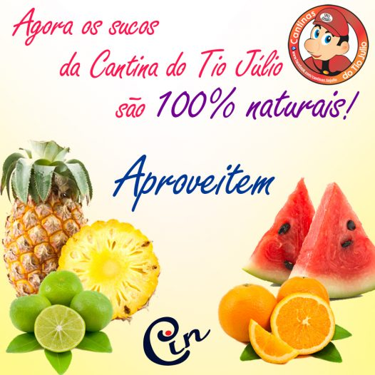 Cantina do Tio Júlio – Suco 100% natural