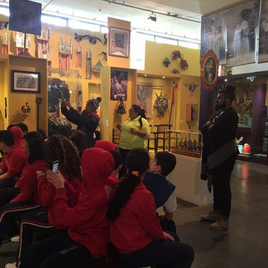 Visita ao Museu Afrobrasil