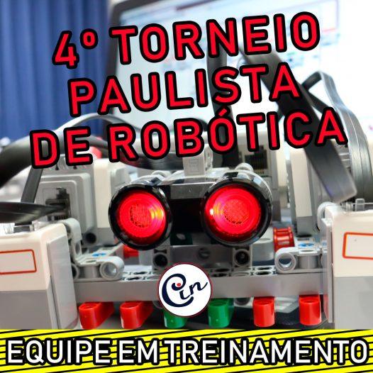 Cin Robótica  – Treinamento para o 4º Torneio Paulista de Robótica