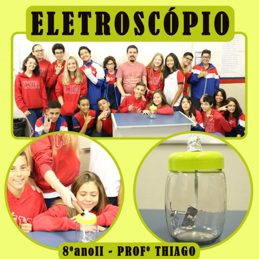 Eletroscópio – Processo de eletrização de corpos