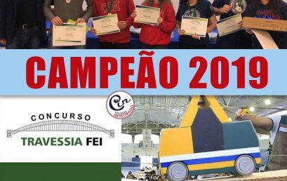 CONCURSO TRAVESSIA FEI 2019 – É CAMPEÃO!